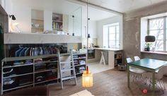 Rå funktionel bolig på kun 36 kvadratmeter - Small living