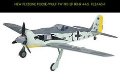 NEW Flyzone Focke-Wulf Fw 190 EP Rx-R 44.5  FLZA4314 #tech #flyzone #plans #parts #products #kit #racing #fpv #camera #technology #gadgets #shopping #190 #drone