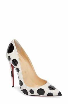 Christian Louboutin So Kate Pointy Toe Pump (Women) Polka Dot Heels e2ed6b787daa