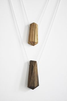 Ketten lang - Kette Diamond - 925 Silber - 70cm - ein Designerstück von nahili bei DaWanda
