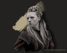 Vikings - Lagertha by firatbilal