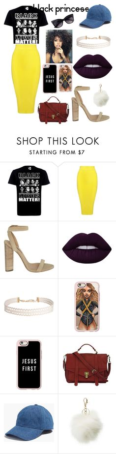 """""""Black Princess"""" by kamillebriana-kd ❤ liked on Polyvore featuring Posh Girl, adidas Originals, Lime Crime, Humble Chic, Casetify, Handle, Madewell and Charlotte Russe"""