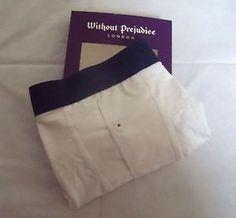 Without Prejudice Mens Trunks Designer White Boxer Underwear - Medium | eBay