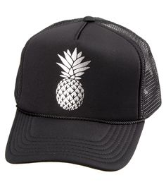 9dc8f10f289 O Neill Beach Squad Pineapple Trucker Hat at SwimOutlet.com – The Web s most