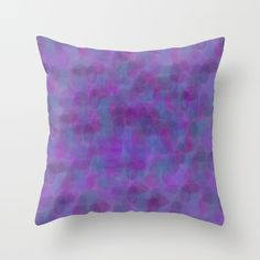 Buy it online. #pillow #cushion, #decor home #decoration, #decorative light colors, #purple #morado, #violeta #bubbles, #sunnyday style #lively #fashionable #contemporary #modern #abstract design, almohada cojin para decoracion de la sala o recamara, #hamtz