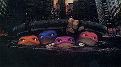 Ninja Turtles uit het riool