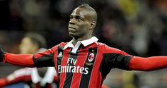 Mario Balotelli scores both goals in AC Milan win #sports #soccer #acmilan