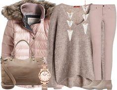 ♥ Casuallook in Rosa ♥ #ootd #rosa #winteroutfit #winterjacke #daunenjacke