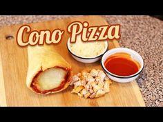 CONO-PIZZA   RECETA FACIL PARA HACER PIZZA   MUSAS - YouTube