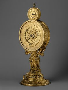 German Clock - Nurenberg Ca. 1570... Beautiful.