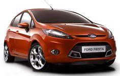 Ford New Fiesta Orange Hd
