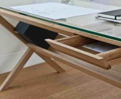 Great Cable Tidy Home Office Desk | The Idea Is That Only One Single Cable Will  Exit The Desk To Reach The Power Socket In Your Wall.