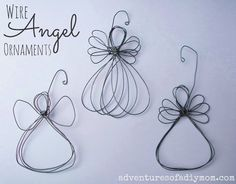 Wire Angel Ornament Tutorial