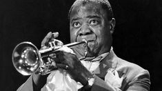 Louis armstrong was also a very popular singer of the time. He played many shows around America for quit a few years.