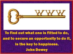 Have you discovered your key yet?