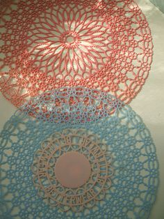 plastic doilies-Really liked these-Marilyn (Busby) Horchem