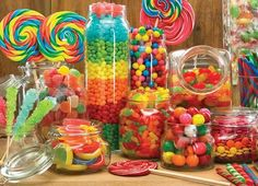 My faaavs! Fruity, Gummy, Sour, Chewy Candies! Love 'em all!