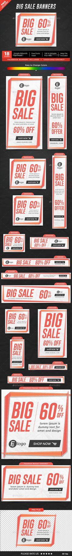 104 Best Sale banners images Sale banner, Banner template, Web banners