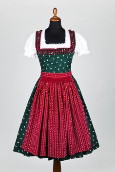 Lena Hoschek - Traminer Dirndl, red apron