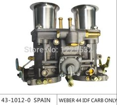 79.90$ Watch here - http://alitkg.worldwells.pw/go.php?t=32242299726 - Sale!!!weber carburetor 44 IDF CARB para bug/bettle/vw dellorto carburetor with trumple horn