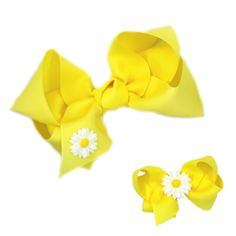 Another great find on Yellow Daisy Bow Set by Lila Baby Bee Costume, Little Girl Hairstyles, Little Princess, Outfit Sets, Girly Things, Hair Pins, Headbands, Little Girls, Print Patterns