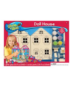 Look at this Doll House Kit on #zulily today!