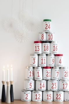 illy coffee tin advent calendar  LOOK WHAT I MADE ...