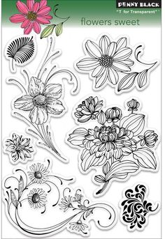 Flowers Sweet - Clear Stamp