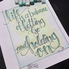 lettering The tough part is knowing when to do each. Doodle Lettering, Hand Lettering Quotes, Creative Lettering, Brush Lettering, Lettering Design, Bujo, Doodle Quotes, Calligraphy Letters, Chalkboard Art
