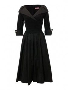little black dresses for women over 50 | Dresses with Sleeves Challenge Day 40 -very Grace Kelly