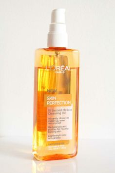 L'Oreal Paris Skin Perfection Cleansing Oil is as Good as Shu Uemura Classic
