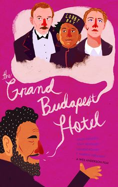 The Grand Budapest Hotel Wes Anderson, Lobby Boy, Grand Budapest Hotel, Alternative Movie Posters, Illustration Girl, Illustrations And Posters, Aesthetic Art, Fan Art, Drawings