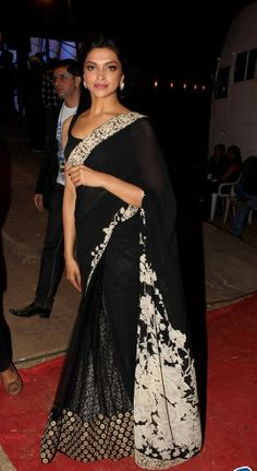 Rs.2,199/- New Arrivals of Bollywood Saree by Istyldeal - Deepika Padukone Black Beauty Saree,Buy From Here: http://www.artncraftemporio.com/bollywood-saree-by-istyldeal-deepika-padukone-black-beauty-saree  Note:Avail Flat 10% Off on all the products & Additional 10% on Handcrafted Apparels Offer Valid till 31st March 2014* COD & Free Shipping Available*