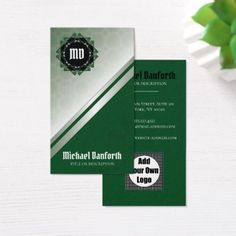 #Simple Elegant Damask Motif I - Cyan Black White Business Card - customized designs custom gift ideas