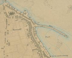1877 plan du port de Roscoff