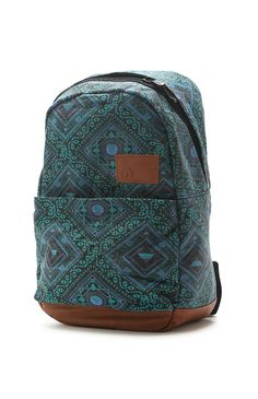 Going Back Canvas Backpack