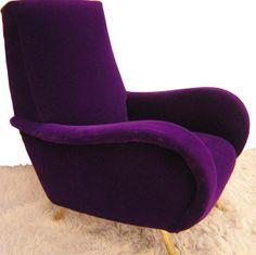 Best Purple chair ideas on Purple Love, All Things Purple, Purple Lilac, Purple Velvet, Shades Of Purple, Deep Purple, Periwinkle, Purple Stuff, 50 Shades
