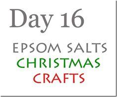 Epsom-salts crafts