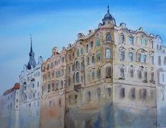 Prague Watercolor