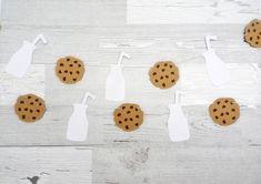 Milk and Cookies Garland - Cookie Banner - Milk Banner - Birthday - Cookie Party - Milk and Cookie Party - Neutral Baby Shower 1st Birthday Boy Themes, Boy First Birthday, Boy Birthday Parties, Birthday Ideas, Milk Cookies, Cookies Et Biscuits, Birthday Cookies, Handmade Shop, First Birthdays