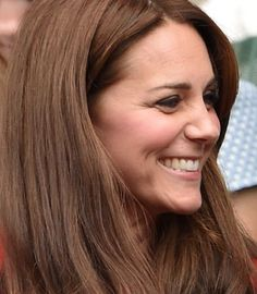 Kate Middle gives fringe a whole new meaning with her latest 'do.