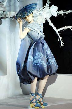 Christian Dior Spring 2007 Couture Fashion Show - Coco Rocha