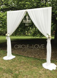 45 chic rustic burlap lace wedding ideas and inspiration wedding arcos de pvc para bodas buscar con google more junglespirit Choice Image