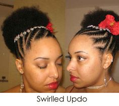awesome natural hair style