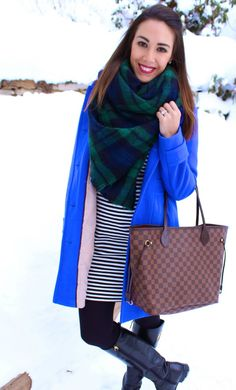 For the Love of Leopard: Striped Dress