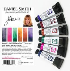 Watercolor Kit, Watercolor Tutorials, Watercolor Artists, Watercolour Painting, Art Tutorials, Watercolor Flowers, Watercolors, Color Charts, Learn To Paint