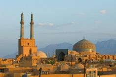 Ancient city of Yazd. Sunset over ancient city of Yazd, Iran , Iran Tourism, Myanmar Travel, Iran Travel, Religion, Travel Alone, Tehran, Photojournalism, Mosque, History