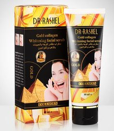 Gold Collagen Whitening Facial Scrub For Deep Cleansing To Remove Dead Skin(80ml/pcs)