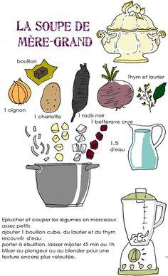 Soupe grand mere tambouille