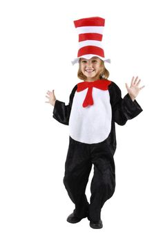 200+ Adorable Halloween Costumes For Your Trick-or-Treating Tot The Cat in the Hat Fans of Dr. Seuss's mischievous feline will love donning a Cat in the Hat costume ($35) as they trick-or-treat.